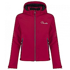 Dare 2B - Kids Pink Outpour softshell jacket