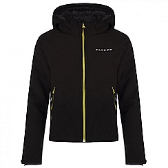 Dare 2B - Kids Black Outpour softshell jacket