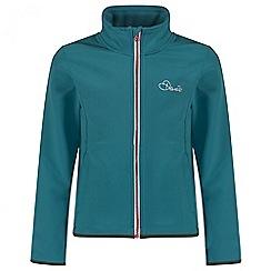 Dare 2B - Kids Blue Derive soft shell jacket