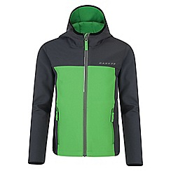 Dare 2B - Boys' green advocate softshell jacket
