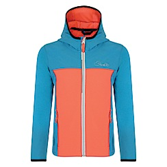 Dare 2B - Girls' coral blue advocate softshell jacket
