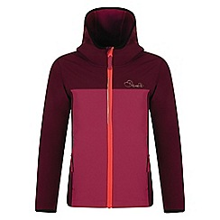 Dare 2B - Girls' purple advocate softshell jacket