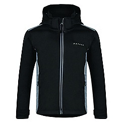 Dare 2B - Kids Black 'Unravelled' softshell ski jacket