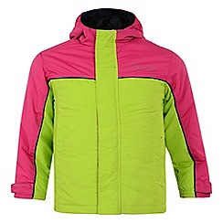 Dare 2B - Kids Lime green offtrack waterproof snow jacket