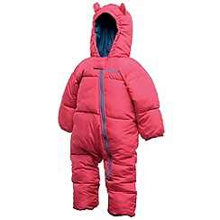 Dare 2B - Electric pink bugaloo baby snow suit