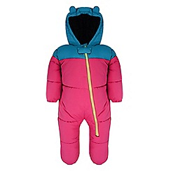 Dare 2B - Kids Electric pink bugaloo all in one snowsuit