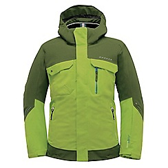 Dare 2B - Boys Lime green/khaki fervent pro waterproof snow jacket
