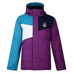 Dare 2B - Kids Purple Startle waterproof/breathable jacket