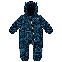Dare 2B - Kids Blue Snuggler showerproof snowsuit