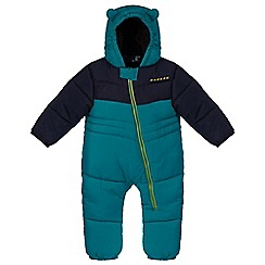 Dare 2B - Kids Teal Snuggler showerproof snowsuit