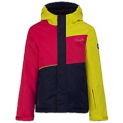Dare 2B - Kids Pink Subscribe waterproof ski jacket