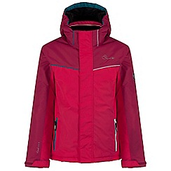Dare 2B - Kids Pink Remarked waterproof ski jacket