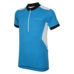 Dare 2B - Blue jewel kids hotfoot cycle jersey