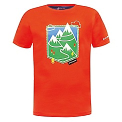 Dare 2B - Kids Orange take a pick printed t-shirt