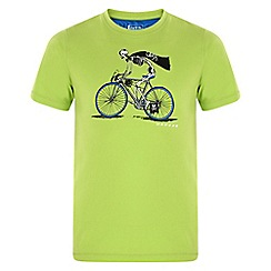 Dare 2B - Kids Green take a pick printed t-shirt