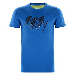 Dare 2B - Kids Blue take a pick printed t-shirt