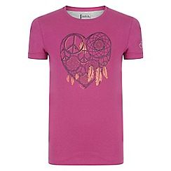 Dare 2B - Girls' purple luck of the draw t-shirt