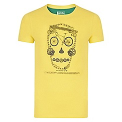 Dare 2B - Boys' yellow luck of the draw t-shirt