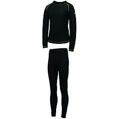 Dare 2B - Black kids cool off ii base layer set