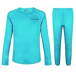Dare 2B - Blue kids 'Simmer Down' base layer ski set