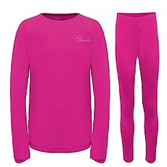 Dare 2B - Kids Electric pink cool off thermal baselayer set