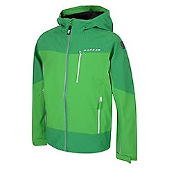 Dare 2B - Kids Green certitude waterproof mountain jacket