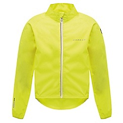 Dare 2B - Kids Yellow ensue waterproof cycling jacket