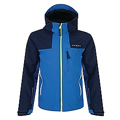 Dare 2B - Boys' blue resonance waterproof jacket