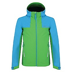 Dare 2B - Boys' green resonance waterproof jacket