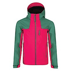 Dare 2B - Girls' neon pink resonance waterproof jacket