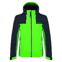 Dare 2B - Green 'Resonance' kids waterproof jacket