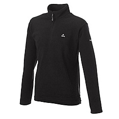 Dare 2B - Black lightweight half zip micro fleece top