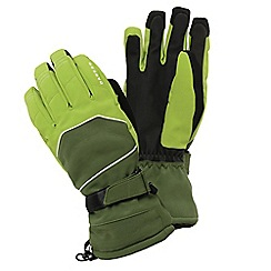 Dare 2B - Lime/khaki green clinched insulated stretch glove