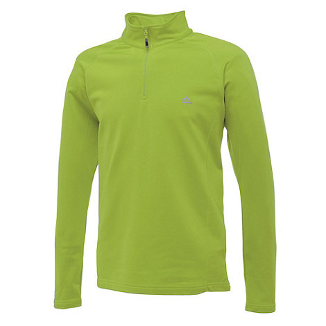 Dare 2B - Key Lime Fuseline Core Stretch Half Zip