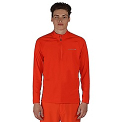Dare 2B - Orange Fuseline core stretch ski mid layer