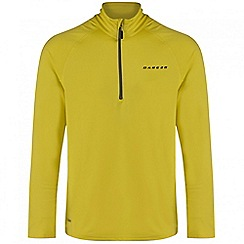 Dare 2B - Yellow Fuseline core stretch ski mid layer