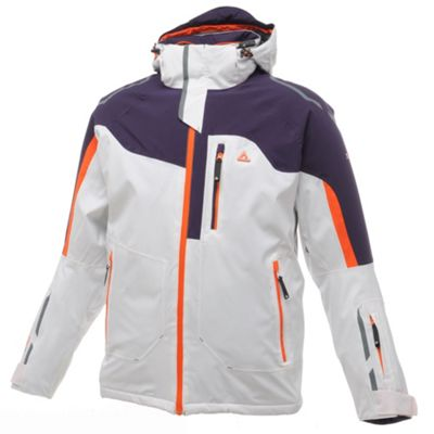 White And Grape Waterproof Intrepid Jacket