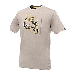 Dare 2B - Ash grey marl skull cycle t-shirt
