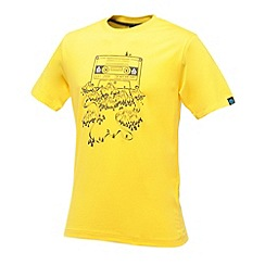 Dare 2B - Bright yellow frequency t shirt