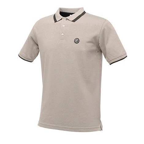 Dare 2B - Ash grey marl elevation polo shirt