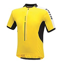 Dare 2B - Bright yellow astir cycle jersey