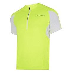 Dare 2B - Fluro yellow commove cycle jersey