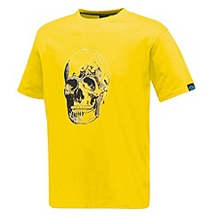 Dare 2B - Yellow skull mount t shirt