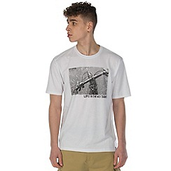 Dare 2B - White behind bars print t-shirt