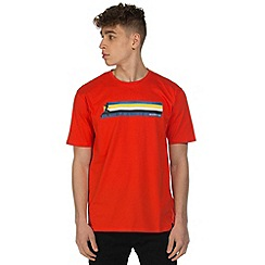Dare 2B - Red multiband print t-shirt
