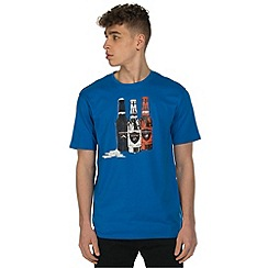 Dare 2B - Blue bottle print t-shirt