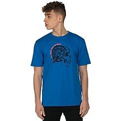 Dare 2B - Blue gearhead print t-shirt