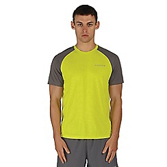 Dare 2B - Grey and yellow undermine sports t-shirt