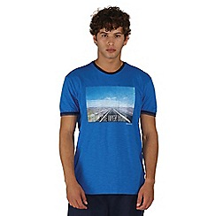 Dare 2B - Blue out of town print t-shirt