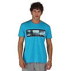Dare 2B - Blue negatives print t-shirt
